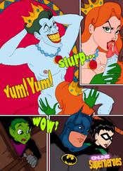 Super Heroes xxx comics