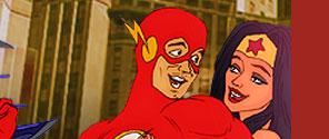 Superheroes xxx cartoons