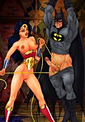 Batman in femdom