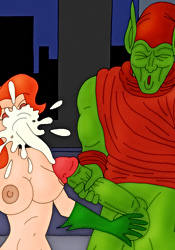 Poison Ivy gets facial