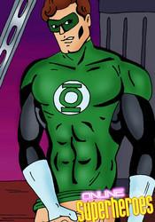 Horny Green Lantern