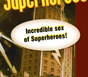 Hot sex of Superheroes