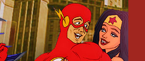 Naked Super Heroes