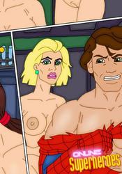 Naked Peter Parker