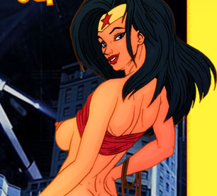 Wonder Woman naked