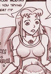 Sexy Teen Titans dickgirls