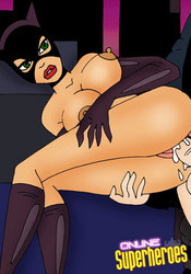 Naked Catwoman fucked hard