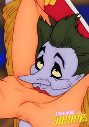 Joker licking pussy