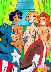 Naked Totally spies girls