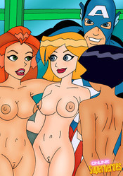 Sexy Totally spies girls