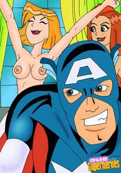 Horny captain America