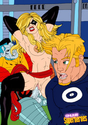 X-men sex orgy