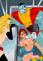 Sexy girls from X-men