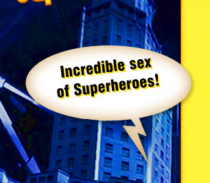 Hot sex of Superheroes