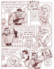 Drakken and Kim sex comics