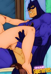 Batman fucking a mature babe