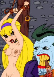 Naked Stella Winx in BDSM cartoons