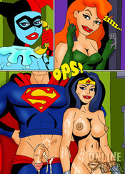 Superman porn comics