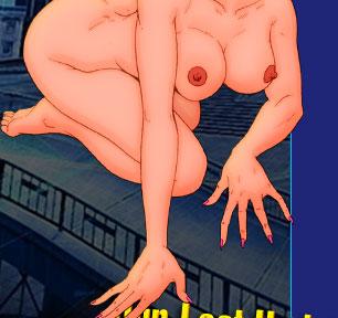 Naked catowman' body