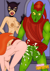 Poison Ivy fuckked from behind