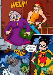 Teen Titans porn comics