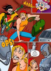 Teen Titans suerheroes